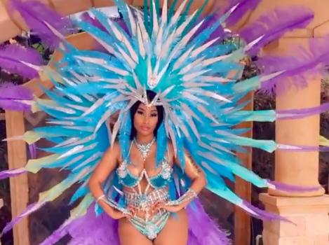 Nicki Minaj Shares Flat-Tummy Video Amid Pregnancy Rumors