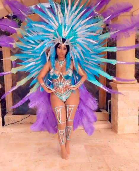 Nicki Minaj Shares Flat-Tummy Video Amid Pregnancy Rumors