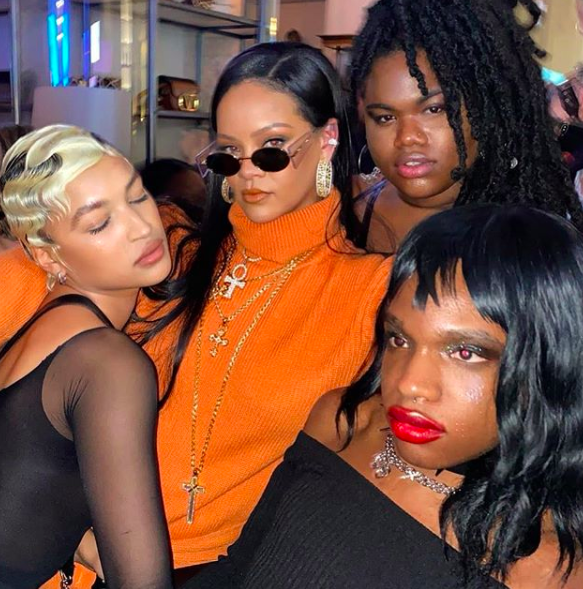 Rihanna Drops New Fenty 2-20 Collection At NYFW