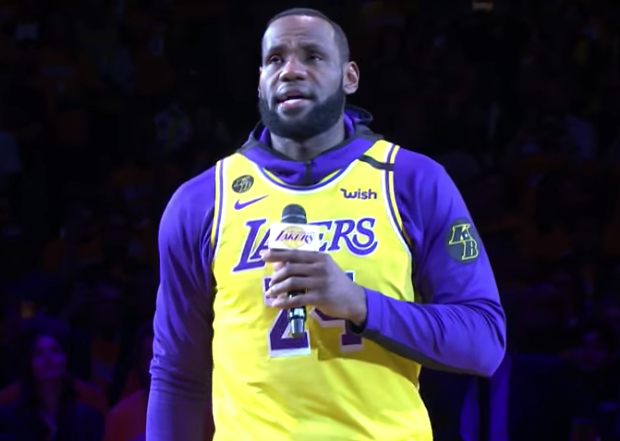 Kobe Bryant Tribute: LeBron James Gives Emotional Speech + Usher, Wiz Khalifa & Boyz II Men Perform [VIDEO]