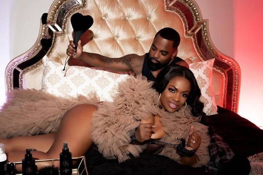 Kandi Burruss' Husband Todd Tucker Sexily Spanks Her In New Shoot [Photo]