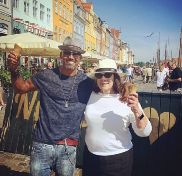 Shemar Moore Tearfully Announces His Mother's Death