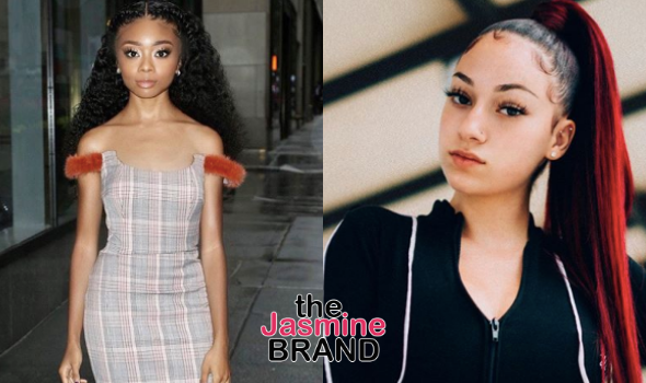 Skai Jackson Filed A Restraining Order Against Bhad Bhabie After She Threatened To Kill Her + Bhad Bhabie Reacts: Go Get Your Restraining Order, Imma Go Get Checks