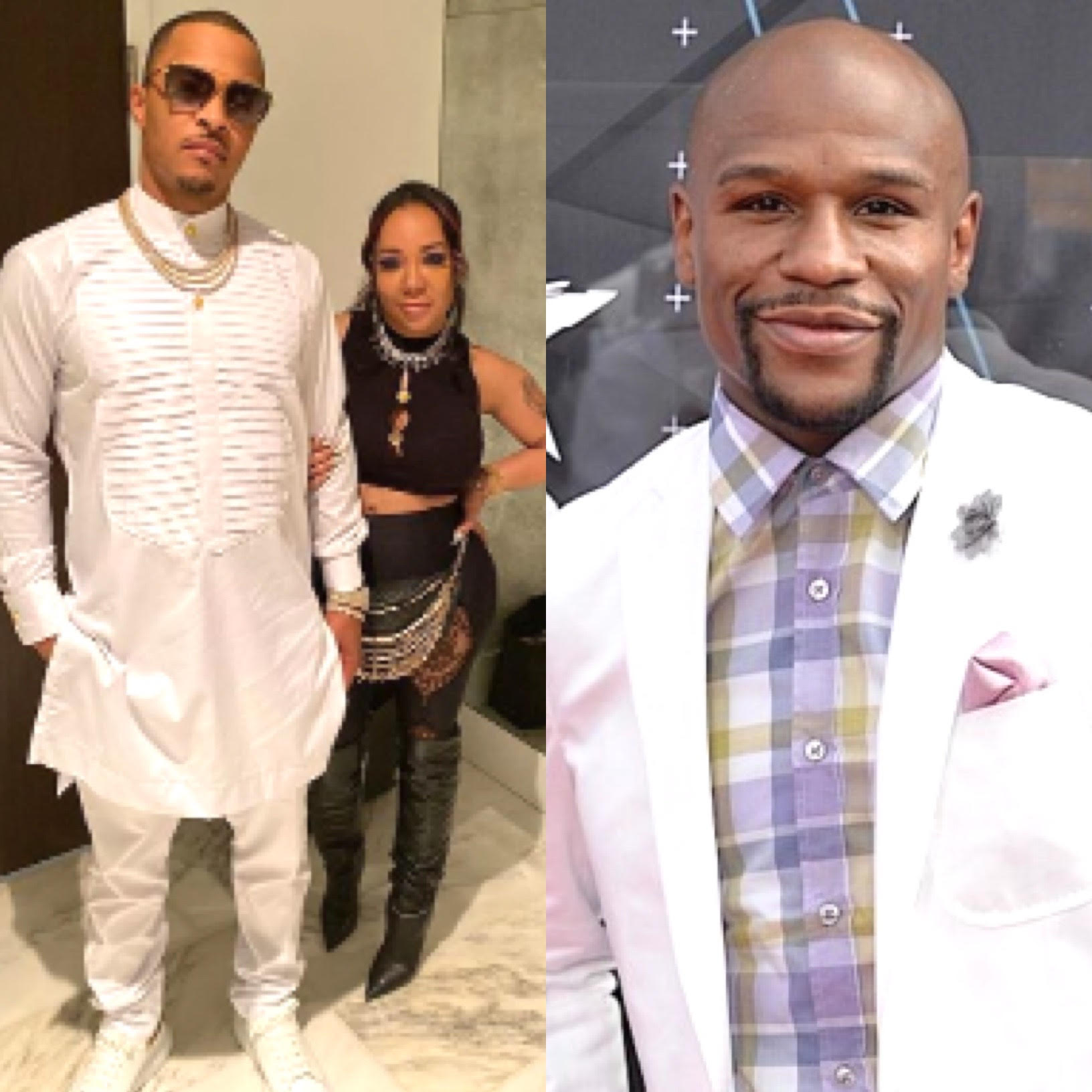Tiny sides with Floyd Mayweather in fight with T.I.