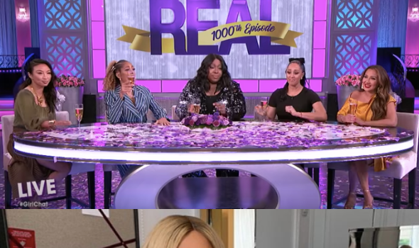 Loni Love Tells Tamar Braxton 'You Are Still Our Sister' As 'The Real' Celebrates 1,000th Episode [WATCH]