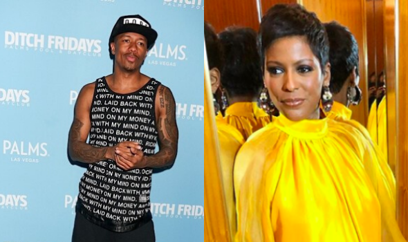Nick Cannon & Tamron Hall Recall That Time He Tried To Shoot His Shot: He Sent Me A Gift! [WATCH]
