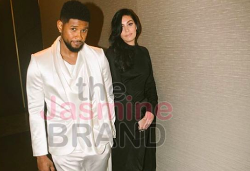 Usher & New Rumored Girlfriend Spotted Out