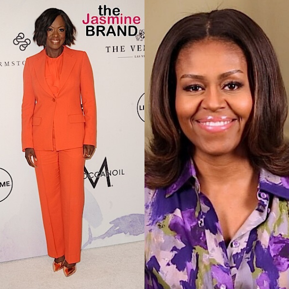 Viola Davis Jokes That Accepting Michelle Obama Role Was A Moment Of 'Temporary Insanity'