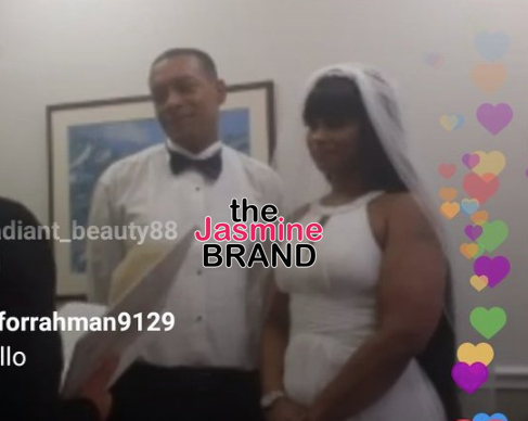 Tokyo Toni Gets Married, Blac Chyna Watches On IG Live [VIDEO]