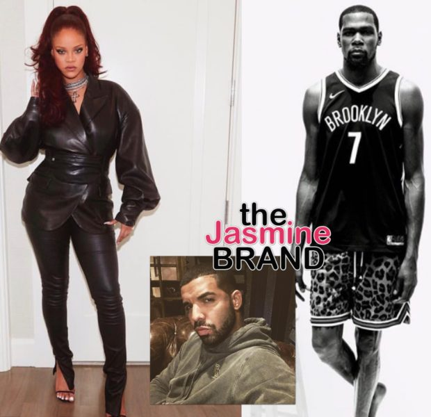 "Rihanna Pokes Fun Of Kevin Durant For Having Coronavirus ""Should I Wear A Mask?"", Drake Interjects [VIDEO]"