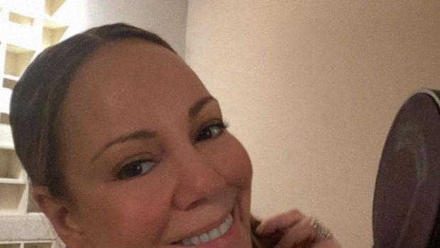 Mariah Carey Celebrates Her 50th Birthday In The Studio [Photo]