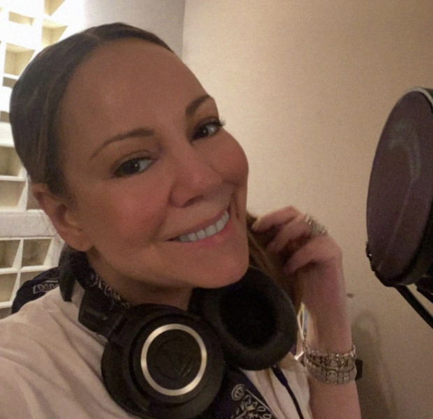 Mariah Carey Celebrates Her 50th Birthday In The Studio [Photo]