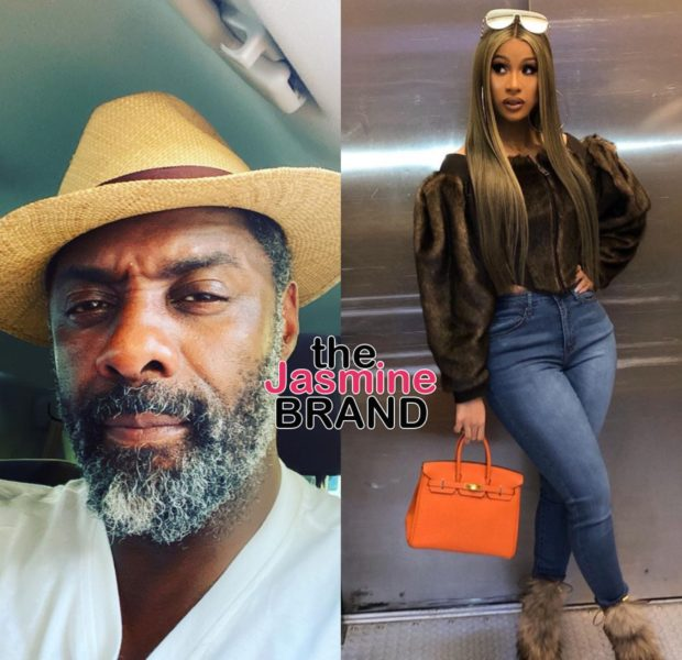 Idris Elba Slams Cardi B's Theory Celebs Are Paid For Coronavirus Results: Absolute Bullsh*t!