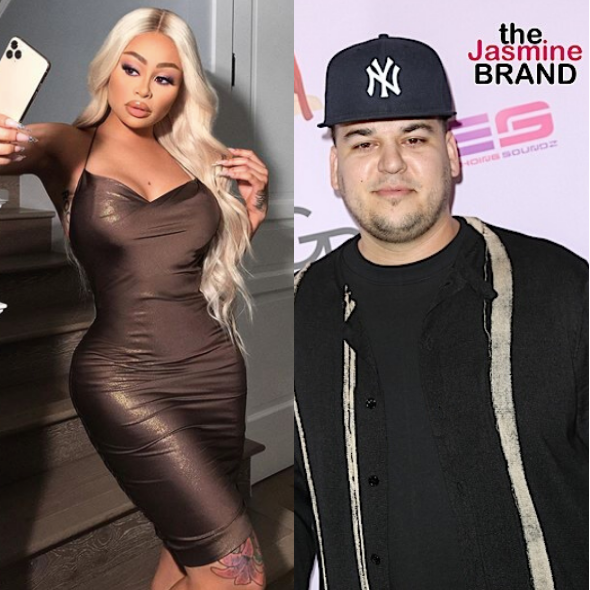 Rob Kardashian Shuts Down Blac Chyna's Claims That He's 'Depressed' & 'Afraid To Leave The House' Amid Custody Drama