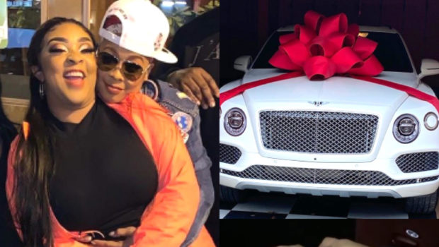 "Da Brat Bursts Into Tears, Confirming Her Relationship W/ Rumored Fiancée Jesseca Dupart ""I Met My Heart's Match"" + See Her Lavish B-Day Gift!"
