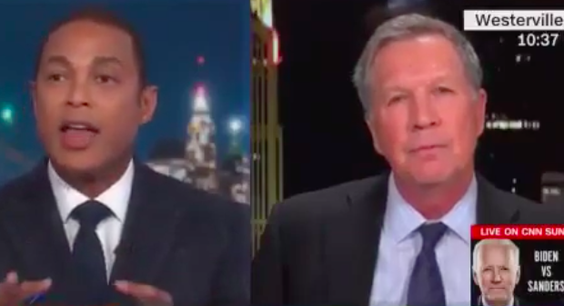 Don Lemon & John Kasich Get Into Heated Exchange Over Donald Trump's Coronavirus Speech [WATCH]