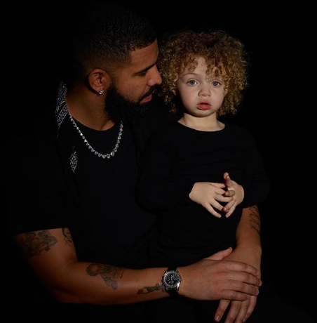 Drake Shares 1st Public Photos Of His Son, Adonis: I Love & Miss My Beautiful Family