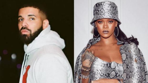 Drake & Rihanna Spotted Chatting During Instagram Live DJ Set