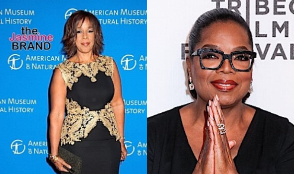 "Gayle King Talks Recent Criticism w/ Oprah Winfrey: ""I Never Lost Sight Of Who I Was"""