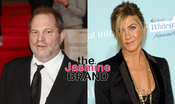 """Harvey Weinstein Allegedly Wrote Jennifer Aniston """"Should Be Killed"""" While Being Accused Of Sexually Assaulting Her"""