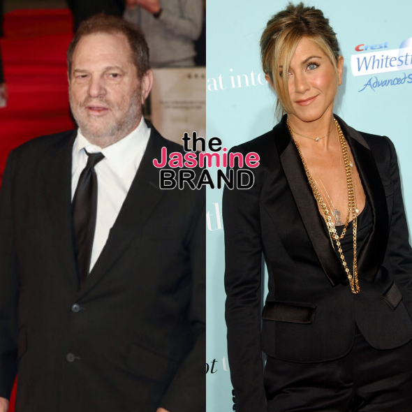 "Harvey Weinstein Allegedly Wrote Jennifer Aniston ""Should Be Killed"" While Being Accused Of Sexually Assaulting Her"