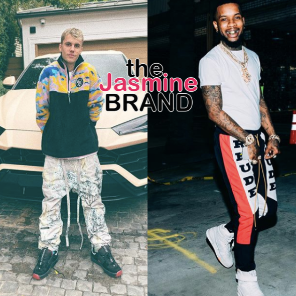 "Tory Lanez Says He's ""Low Key Kinda Scared"" Amid Coronavirus, Justin Bieber Suggests Bible Verse [WATCH]"