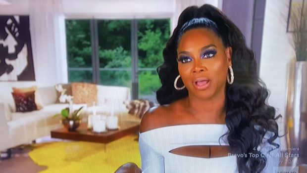 Kenya Moore Threatens To Walk Out During RHOA Confessional, Tells Producer: Whoever Is Writing These Questions!