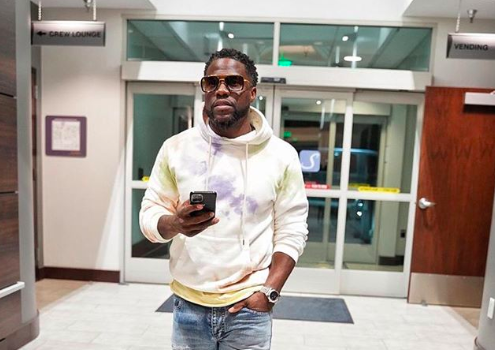 Kevin Hart Shares Hilarious Story Of AFan Trying To Take A Photo Without A Mask: I Jumped Back, Whoa!