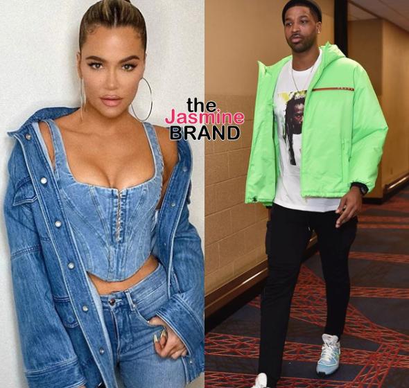 Khloe Kardashian Confirms She & Ex Tristan Thompson Are Quarantining Together