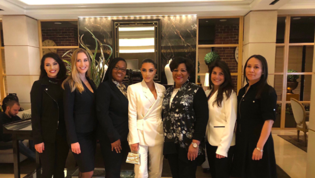 Kim Kardashian Returns To White House To Discuss Criminal Justice, Brings Alice Johnson & 3 Women Trump Helped Free With Her