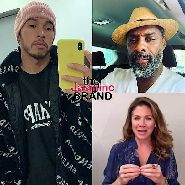 Lewis Hamilton Refuses Coronavirus Test After Being In Contact w/ Idris Elba & Sophie Trudeau, Who Have Both Tested Positive: There Are People Who Need It More Than I Do