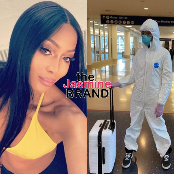 "Naomi Campbell Rocks Full-Body Hazmat Suit Amid Coronavirus Scare: ""Safety First!"" [PHOTOS]"