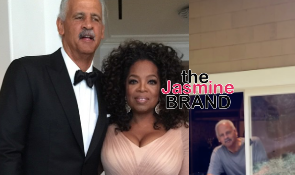 Oprah Checks In w/ Long-Time Boyfriend Stedman Graham After Making Him Quarantine In Guest House