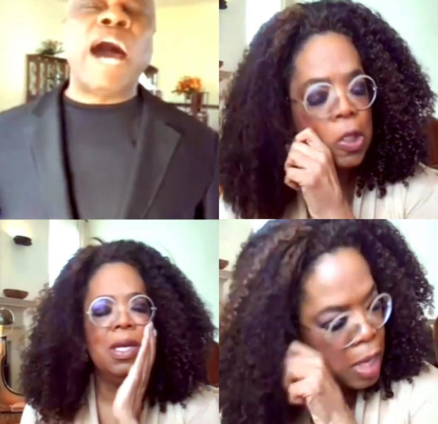 "Oprah Cries On Social Media, As Pastor Wintley Phipps Sings ""Amazing Grace"" [VIDEO]"