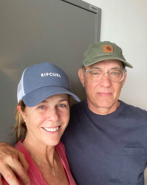 Tom Hanks & Wife Rita Wilson Back In L.A. After Fighting Coronavirus