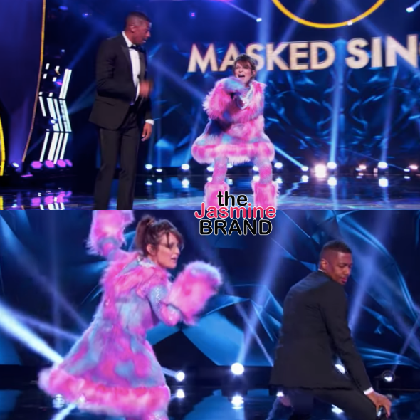 Nick Cannon & Sarah Palin Performing 'Baby Got Back' On 'The Masked Singer' Is A Must See
