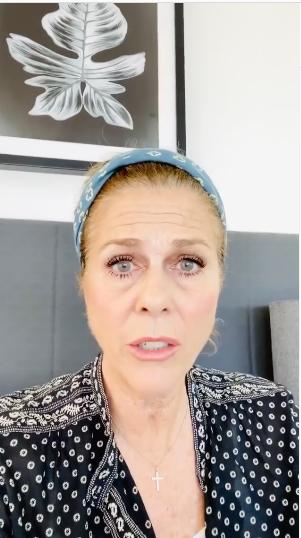 Tom Hanks' Wife Rita Wilson Raps To Naughty By Nature [VIDEO]