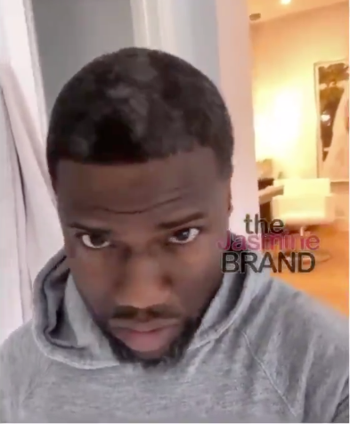 Kevin Hart Is Embracing His Gray Hair [VIDEO]
