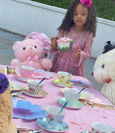 Masika Kalysha Throws Daughter A Quarantine Tea Birthday Party [Photos]