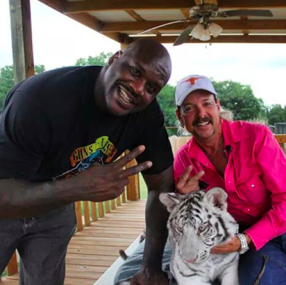 Shaq Denies Knowing Joe Exotic After 'Tiger King' Cameo: Not My Friend, I Don't Know Him