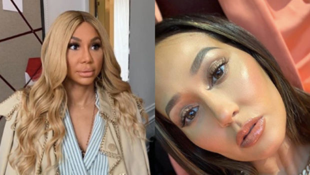 "Tamar Braxton Appears To Extend Olive Branch To Former ""The Real"" Co-Host Adrienne Bailon"