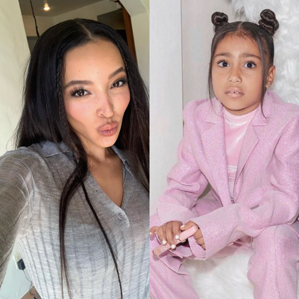 "Update: Tinashe Says ""It Was A F*cking Joke"" After Being Accused Of Shading 6-Year-Old North West"