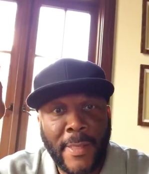 Tyler Perry Kicks Off #HesGotTheWholeWorld Challenge Enlists Fantasia, J.Hud, Yolanda Adams [VIDEO]