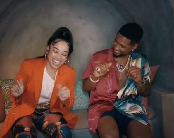 "Usher & Ella Mai Give Us Summer Cookout Vibes In New ""Don't Waste My Time"" Video"
