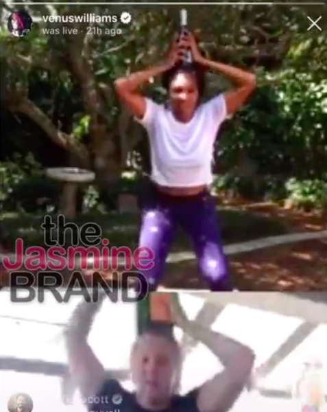 Venus Williams & Comedienne Amy Schumer Work Out With Liquor Bottles [WATCH]