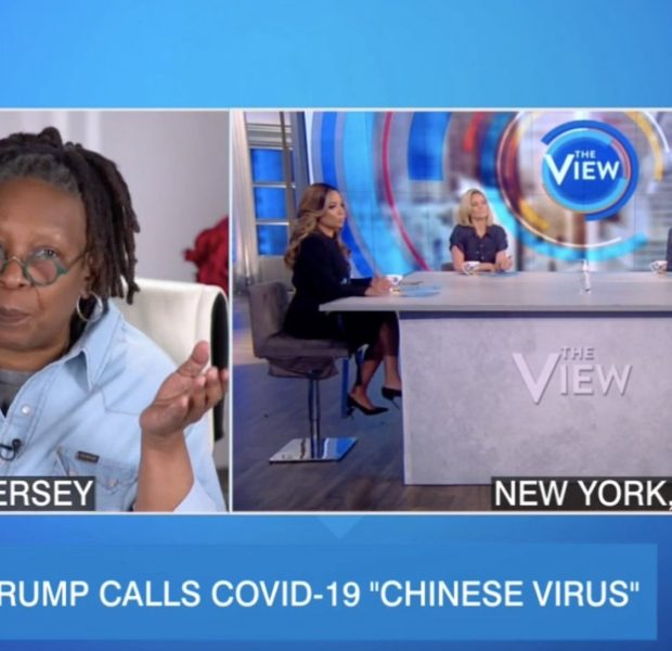 "Whoopi Goldberg Co-Hosts ""The View"" From Home Amid Coronavirus Outbreak"