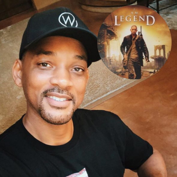 "Will Smith Jokes He 'Feels Responsible' For False Info About Coronavirus Because Of His ""I Am Legend"" Role"