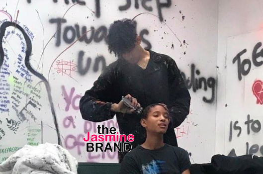Willow Smith Shaves Her Head While Locked In Box For Anxiety Awareness [WATCH]