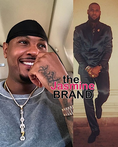 Carmelo Anthony Recalls The Time Lebron James Saved His Life [VIDEO]