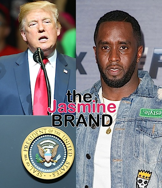 "Sean ""Diddy"" Combs: It's Not Trump's Fault He Doesn't Give An F About Us [VIDEO]"